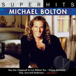 Bolton, Michael - Super Hits: Michael Bolton CD Cover Art