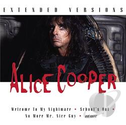 Cooper, Alice - Extended Versions CD Cover Art