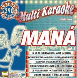 Mana - Mana, Vol. 3 CD Cover Art