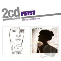 Feist - Let It Die/Reminder CD Cover Art
