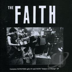 Faith / Void - Faith/Void CD Cover Art