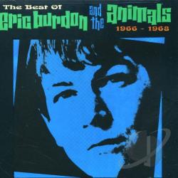 Eric Burdon & The Animals - Best of Eric Burdon & the Animals, 1966-1968 CD Cover Art