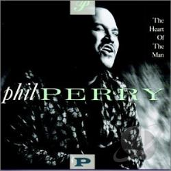 Perry, Phil - Heart of the Man CD Cover Art