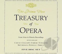 Prima Voce Treasury of Opera, Vol. 2 CD Cover Art