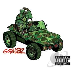 Gorillaz - Gorillaz CD Cover Art
