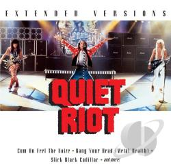 Quiet Riot - Extended Versions CD Cover Art