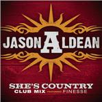 Aldean, Jason - She's Country (Club Mix) DB Cover Art