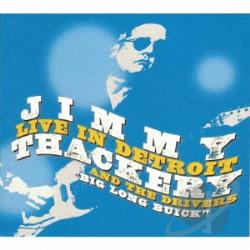 Thackery, Jimmy - Live In Detroit CD Cover Art