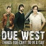 Due West - Things You Can't Do In A Car DB Cover Art