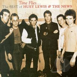 Lewis, Huey & The News - Time Flies: The Best of Huey Lewis & the News CD Cover Art