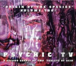 Psychic TV - Origin Of The Species, Vol. 2 CD Cover Art