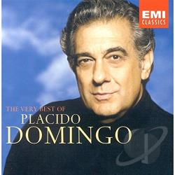 Domingo, Placido - Very Best of Placido Domingo CD Cover Art