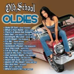 Old School: Oldies CD Cover Art
