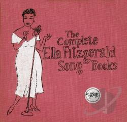 Fitzgerald, Ella - Complete Ella Fitzgerald Song Books CD Cover Art