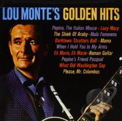 Monte, Lou - Golden Hits CD Cover Art