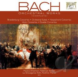 Bach - Bach: Orchetral Works Complete CD Cover Art