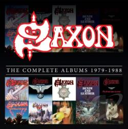 Saxon - Complete Studio Album Collection 1979-1988 CD Cover Art