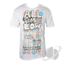 Circles Slim Fit T-Shirt White CLOTH Cover Art