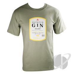 Bathtub Gin T-Shirt Olive CLOTH Cover Art