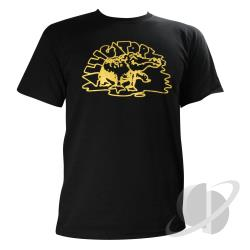 Alligator Basic T-Shirt Black CLOTH Cover Art