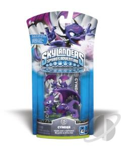 Skylanders Char.2-Cynder TOY Cover Art