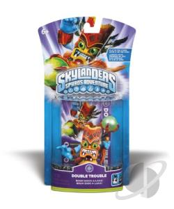 Skylanders Char.2-Double Trouble TOY Cover Art