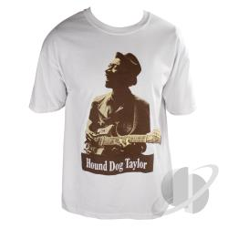 Hound Dog Taylor Basic T-Shirt White CLOTH Cover Art