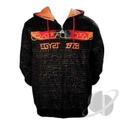 Hiero - Limited Edition Zip Hoodie Black CLOTH Cover Art