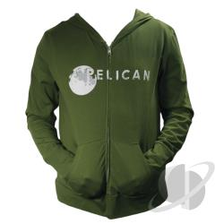 Pelican Organic Zip-Up Hoodie Olive CLOTH Cover Art