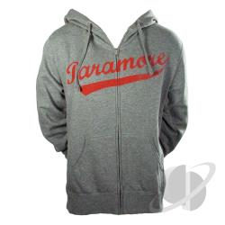 Baseball Logo Zip Hoodie Heather Gray CLOTH Cover Art