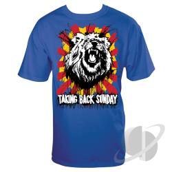 Hear Me Roar Slim Fit T-Shirt Royal Blue CLOTH Cover Art