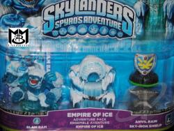 Skylanders Adv.Pack-Empire of Ice TOY Cover Art