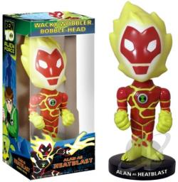 Heatblast Wacky Wobbler TOY Cover Art