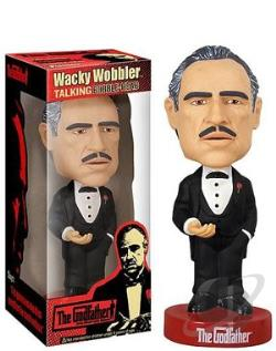 Talking Godfather WackyWobbler TOY Cover Art