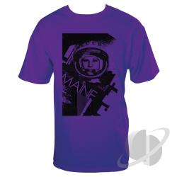 Cosmonaut Slim Fit T-Shirt Purple CLOTH Cover Art