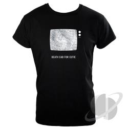 TV Snow Slim Fit Black T-Shirt CLOTH Cover Art
