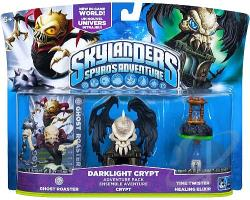 Skylanders Spyro's Adventure Pack - Darklight Crypt TOY Cover Art