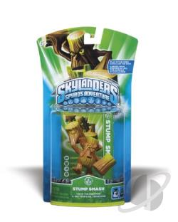 Skylanders Character-Stump Smash TOY Cover Art