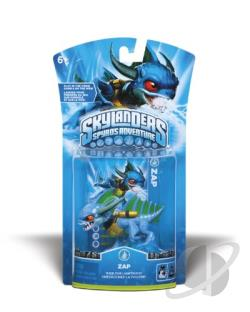 Skylanders Character-Zap TOY Cover Art