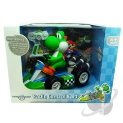 Radio Control Yoshi - Large 1/8 Scale RC - Super Mario Series TOY Cover Art