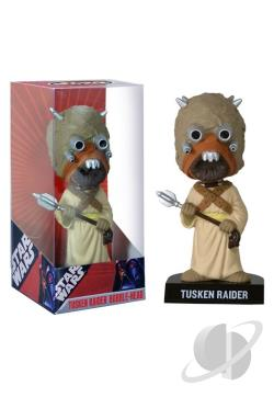 Tusken Raider Star Wars Bobble Head TOY Cover Art