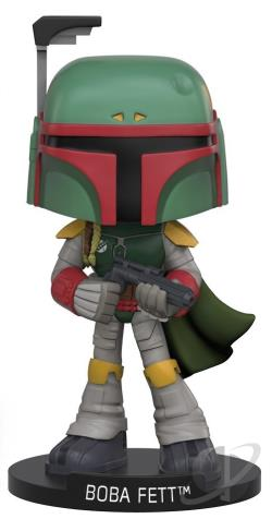 Boba Fett Star Wars Wacky Wobbler TOY Cover Art