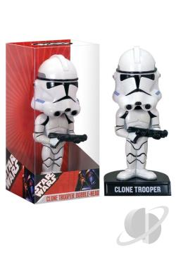 Clone Trooper Star Wars Wacky Wobbler TOY Cover Art