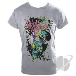 Skull Slim Fit T-Shirt Gray CLOTH Cover Art