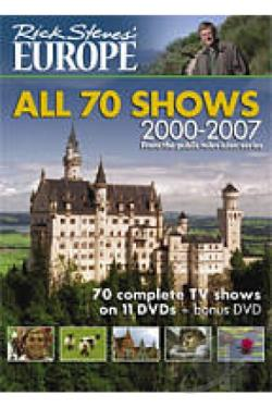 Rick Steves: Europe - All 70 Shows DVD Movie