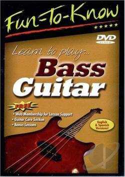 fun to know learn to play bass guitar dvd movie. Black Bedroom Furniture Sets. Home Design Ideas