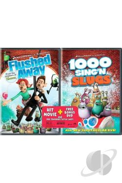 Flushed Away/ 1000 Sing'N Slugs DVD Movie