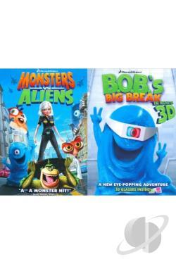 monsters vs aliensbobs big break ginormous double
