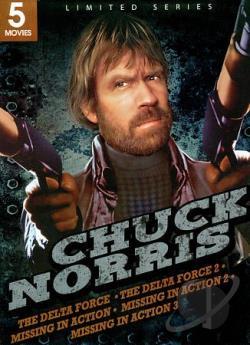 Chuck Norris: 5 Movies DVD Movie