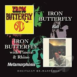 Iron Butterfly Ball Metamorphosis Cd Album
